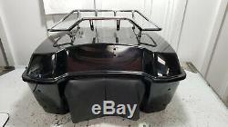 08-18 Harley Davidson Touring Electra Glide Rear Luggage Tour Pack Pak Trunk Box