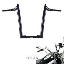 1-1/2 Black 16 Ape Hangers Handlebar for Harley Touring Softail Dyna Sportster