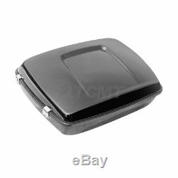 10.7 Chopped Tour Pak Pack Trunk & Latch Fit For Harley Street Road Glide 14-19