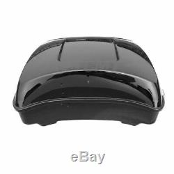 10.7 Chopped Trunk with Latches For Harley Touring Tour Pak Pack Road King 14-19