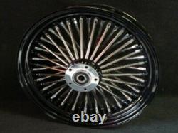 16x3.5 Black Dna Mammoth 52 Spoke Rear Wheel Harley Road King Touring 2002-07