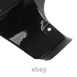 4Vivid Black Stretched Extended Saddlebag Extension For Harley Touring 94-2013