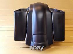 4stretched Saddlebags No Cut Outs And Rear Fender For Touring Baggers 96-2013