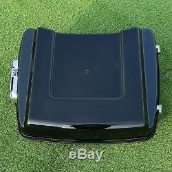 5.5 Razor Pack Trunk with Backrest Fit For Harley Tour Pak Road Glide 2014-2019