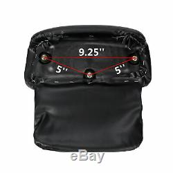 5.5'' Razor Tour Pak Pack Trunk & BLACK Mount Rack For Harley Touring 1997-2008