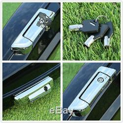 5.5 Razor Tour Pak Pack Trunk + Latch For Harley HD Touring Models 2014-2019 18
