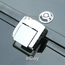 5.5 Razor Tour Pak Pack Trunk With Latches Key For Harley Touring Models 97-13