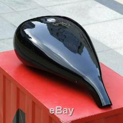 5 Extended 4.7 Gallon Fuel Gas Tank For Harley Touring Electra Glide Custom