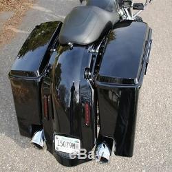 5 Stretched Extended Saddlebag For Harley Touring Electra Street Glide 14-2020