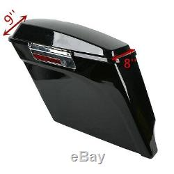 5 Stretched Hard Saddlebags For Harley Touring Electra Street Glide Road king