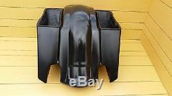 5extended Saddlebags And Rear Fender For Harley Davidson Touring Bikes 96/2013