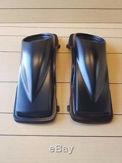 6.5 Speaker Lids 1997-2013 Harley Davidson Flh Touring Baggers