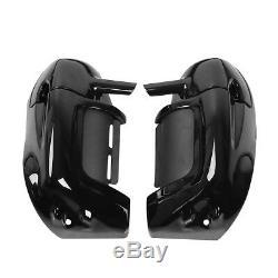 6.5 Speaker Pods +Lower Vented Leg Fairings Glove Box Fit For Harley Touring