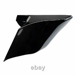 6 Stretched Extended Side Covers Harley Davidson 2009-2019 FLH Touring Baggers