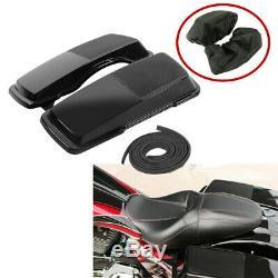 6x 9 Saddlebag Speaker Lids Fit For Harley Touring Electra Street Glide 94-13