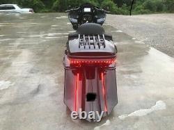 7 Harley Davidson Touring Stretched Saddlebags And Rear Fender Bagger End Kit