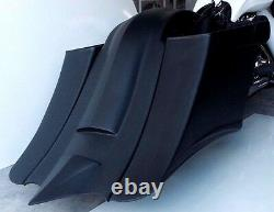 7Down & Out Extended Saddlebags For Harley Davidson Touring Bikes 97-2008