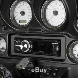 98-2013 Harley Touring Radio Install Adapter W Thumb Control, Dash Kit Stereo CD