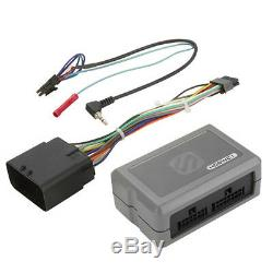 98-2013 Harley Touring Radio Install Adapter With Thumb Control Interface Stereo