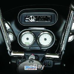 98-2013 Harley Touring Stereo Radio CD Install Adapter Dash Kit Flht Flhx Flhtc
