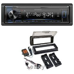 98-2013 Harley Touring Stereo Radio Install Adapter Dash Kit Flht Flhx Flhtc