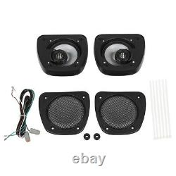 Audio Lower Fairing Speakers Kit For Harley Touring Electra Glide FLHT 2006-2013