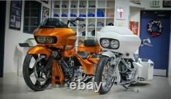 Bad Dad 975 Black Engine Crash Guard Bar Harley Touring Road Glide FLTR 14-2020