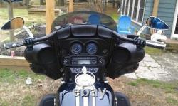 Bikers Choice Black 13 Prime Apes Bars Handlebars Harley Touring Bagger 96-2018