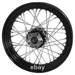 Black 40 Spoke 16 Front Wheel Harley Electra Glide Flh Flht Tour Flt Shovelhead