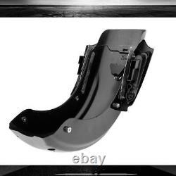 Black CVO Rear Fender LED System For Harley Touring Electra Road Glide 2009-2013
