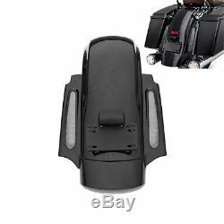 Black CVO Rear Fender System For Harley Touring Road King Street Glide 09-13 12