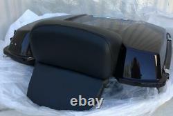 Black Pearl Razor Tour Pak Luggage Trunk ABS for Harley-Davidson Touring