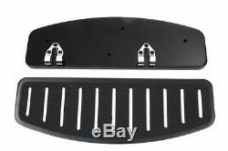 Black Slotted Floorboards Footboards Harley Touring Electra Glide Heritage FLHT