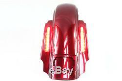 CVO Stretched Rear Fender with LED Lights for 1993-2018 Harley Davidson Touring