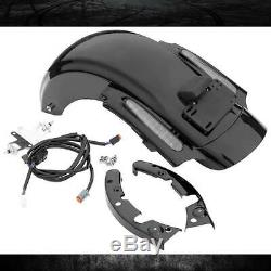 CVO Style LED Rear Fender System Fit For Harley Touring Street Glide 2009-2013