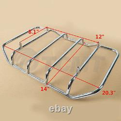 Chopped Pack Trunk Fit For Harley Tour Pak Touring Road King Street Glide 97-08