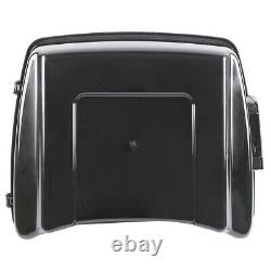 Chopped Pack Trunk For Harley Tour Pak Touring Road King Glide 2014-2020 Black