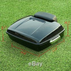 Chopped Tour Pak Pack Trunk +Backrest Fit For Harley Street Electra Glide 14-19