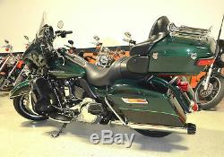 Chrome Black Tip 4 Slip On Mufflers Exhaust Pipe 95-2016 Harley Touring Bagger