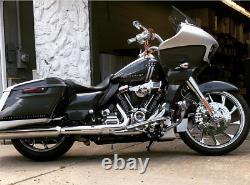 Coastal Moto Hurricane Chrome 21 X 3.5 Front Wheel Harley 08-20 Touring ABS