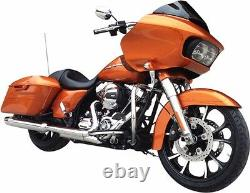 Coastal Moto Largo Front 21 X 3.5 Wheel Black Cut Harley 08-17 Touring Non Abs