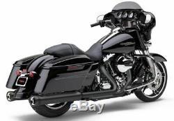 Cobra Neighbor Hater NH Black 4 4.5 Slip On Mufflers Exhaust Harley Touring