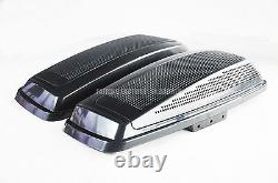 Dual 6x9 Saddlebag Speaker Lid Seal Fit 2014-UP HD Harley Davidson Touring Model