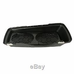 Dual 6x9 Speaker Lids For Harley Touring Saddlebag Road King Street Glide 93-13