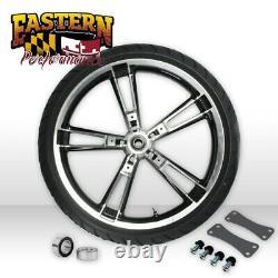 Enforcer Style ReInforcer Black Cut Front 21 Wheel Harley 08-19 Touring Model