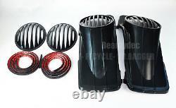 Fairing Factory 6x9 Slop Speaker Lids Gasket for Pre-2013 Harley Touring Bagger