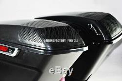 Fairing Factory CVO Style 6x9 Speaker Lids for 14-later Harley Touring Saddlebag