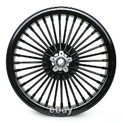 Fat Spoke 21x3.5 Front Wheel Rim For Harley Touring Electra Glide FLHT 1984-2008