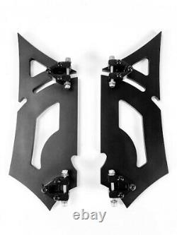 Footpegs Floorboards Footboards Front Harley Touring Softail Road King Fl Glide