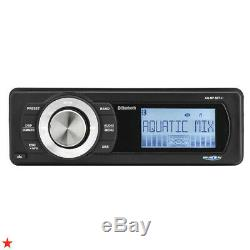 For 1998-2013 Harley Davidson Touring Waterproof Bluetooth Mp3 Aux Radio Stereo